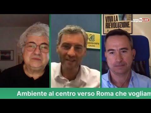Ambiente al centro verso Roma che vogliamo