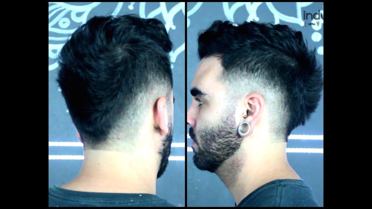Resultado de imagem para Como fazer um Penteado Moicano masculino