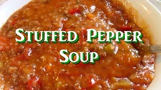 Stuffed Pepper Soup Recipe By Tess's Kitchen