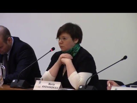 "Mariia Khovanskaia (REC): ""Mutual learning in the EU"""