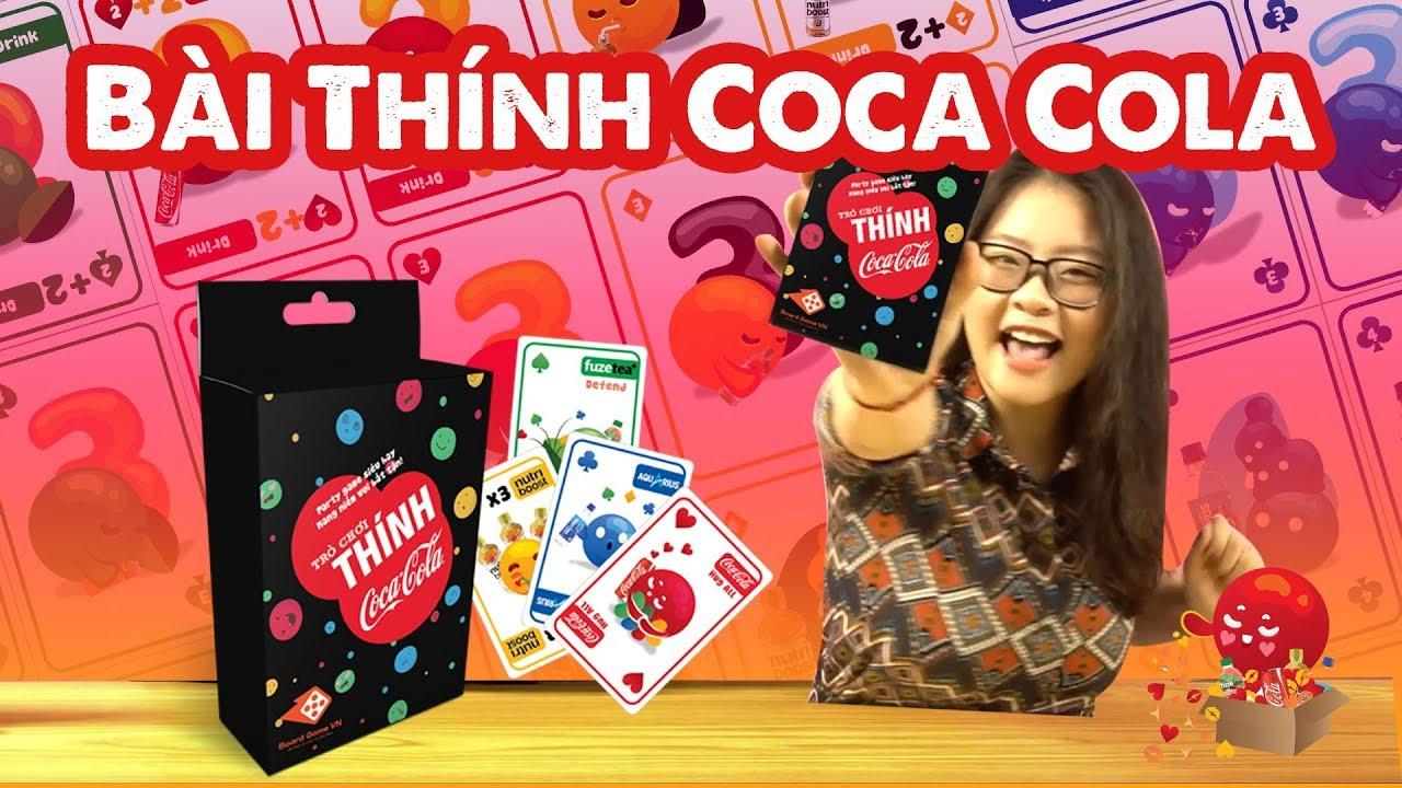 [Board Game VN] Siêu Phẩm BÀI THÍNH COCA-COLA #1