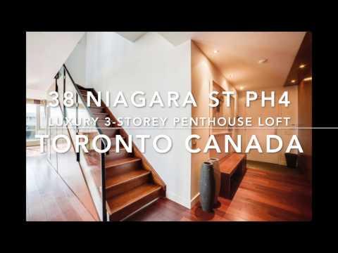 38 Niagara Street PH 4 Toronto Canada | Luxury Penthouse Loft For Sale in King West | Zed Lofts