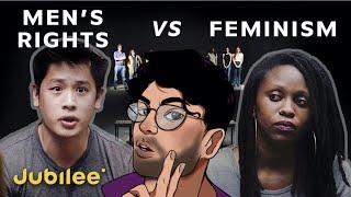 "hasanabi reacts to ""men's rights vs. feminism"""