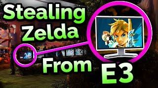 The Great Zelda Heist of E3 2016