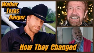 Walker Texas Ranger ( 1993 ) THEN AND NOW 2021