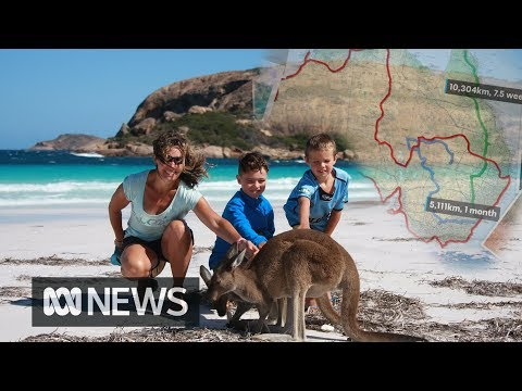 Escaping the grind: Travelling around Australia while homeschooling  ABC News