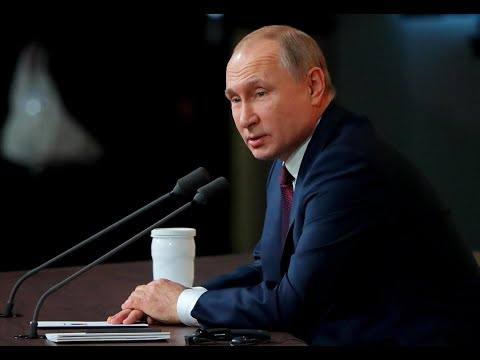 Russian President Vladimir Putin Holds Annual News Conference – Watch Live