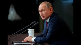 Russian President Vladimir Putin holds annual news conference - watch live