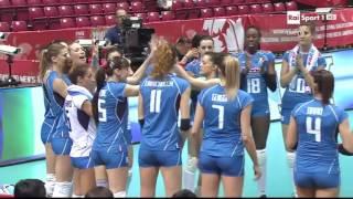 Qualificazioni Olimpiche: Italia - Thailandia 3-1. 2. giornata