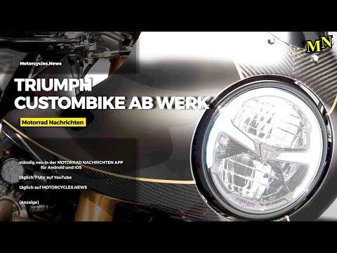 Triumph Custombike ab Werk - Thruxton TFC | Motorrad Nachrichten