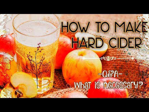 What Is Necessary? ► Q&A ► How To Make Hard Cider For Beginners #8