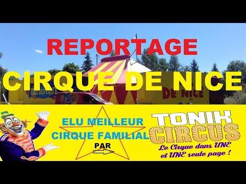 Cirque de Nice 2017 - Reportage Tonik Circus