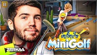 BRAND NEW MINIGOLF GAME! (Infinite Minigolf)