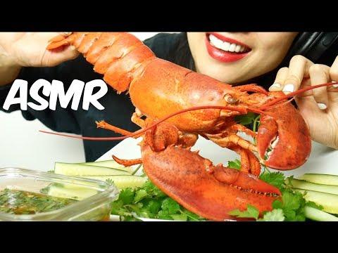 ASMR Lobster (EATING SOUNDS) No Talking   SAS-ASMR thumbnail
