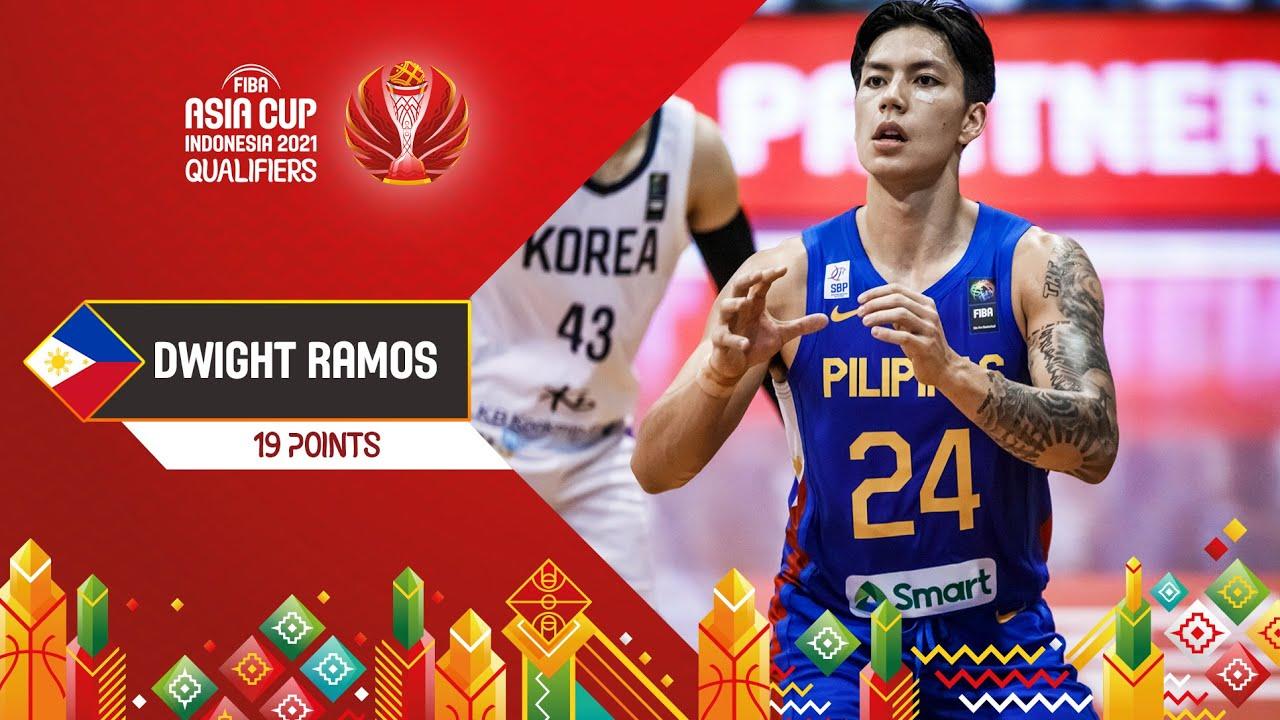 Dwight Ramos scored 19 points vs. Korea | Players Highlights