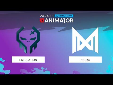 Execration vs Nigma | WePlay - AniMajor
