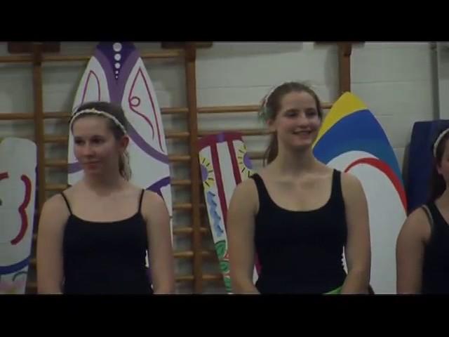 ABRHS Gymnastics Beach Party Mar 2012