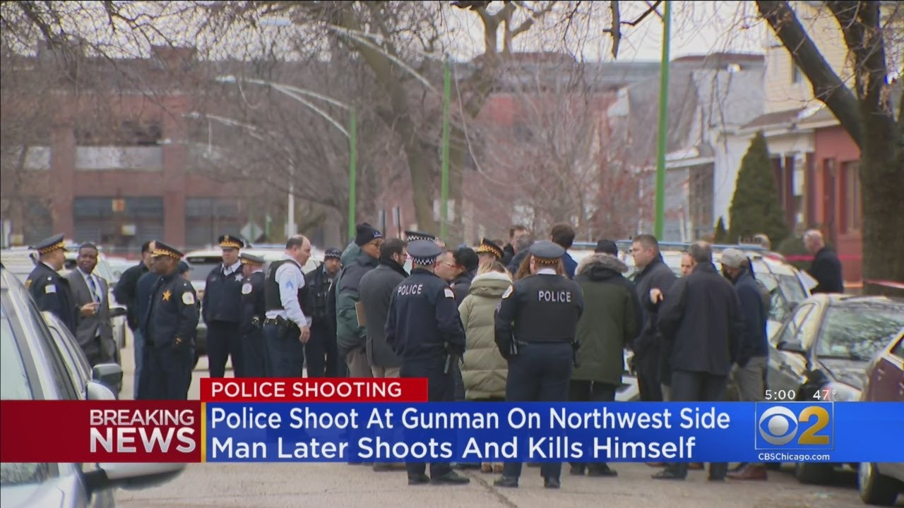 Police Fire Shots At Gunman On Northwest Side