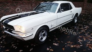 1966 Mustang Coupe for sale Old Town Automobile in Maryland