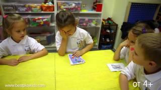 """Игра """"Шаги"""" для изучения английского языка детям."""