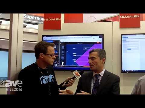 ISE 2016: Gary Kayye Interviews, Alex Carru, President and CEO, of Medialon