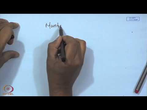 Mod-01 Lec-09 Understanding Merchant Rates