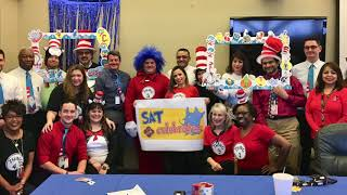 Dr Seuss Birthday at SAT airport