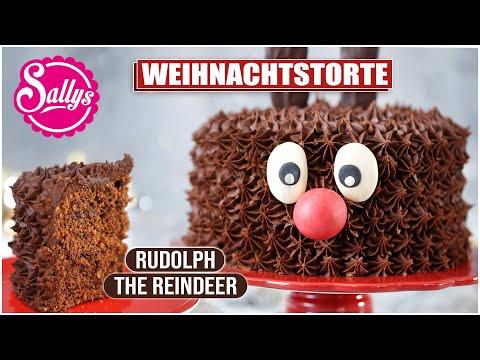 Rentier Rudolf Torte / Rudolph the Reindeer / Sallys Welt