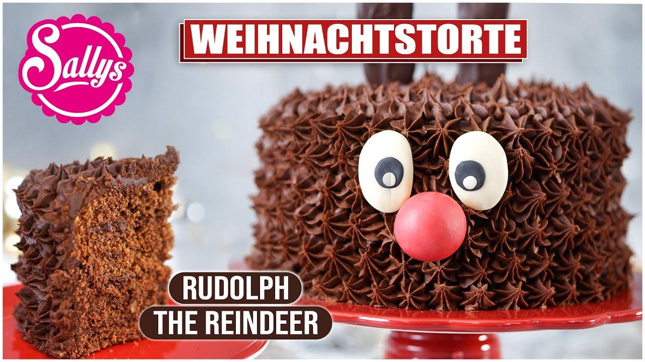 Rentier Rudolf Torte  Rudolph the Reindeer  YouTube