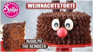 Rentier Rudolf Torte / Rudolph the Reindeer