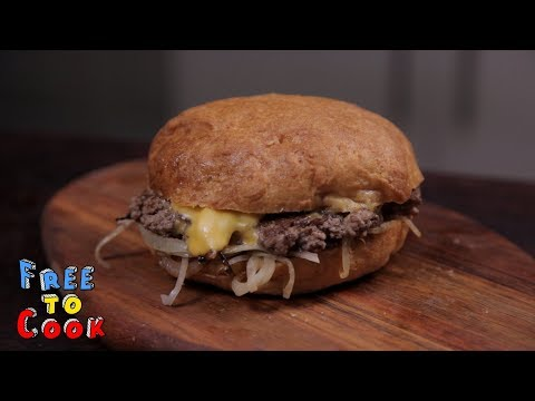 How to cook an Oklahoma-Style Onion Burger