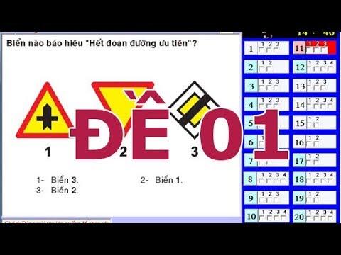 Mẹo thi bằng lái xe A1 - 150 câu hỏi thi bằng lái xe A1 (Đề số 1) thibanglaixehn.com