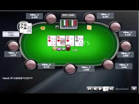 Раздача дня Школы Покера: Блефовые 3 барреля.