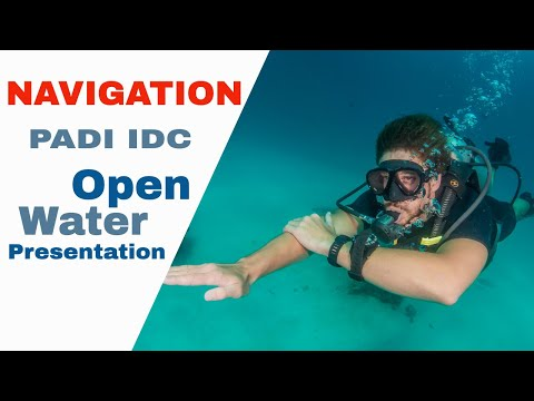PADI Navigation Skill IDC Open Water Presentation
