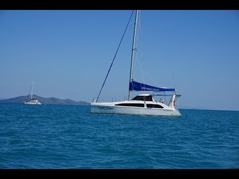 Us Chartering the Seawind 1160 Lite from Whitsunday Escape