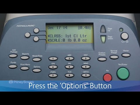 Updating USPS Rates On The Pitney Bowes DM100i-DM225
