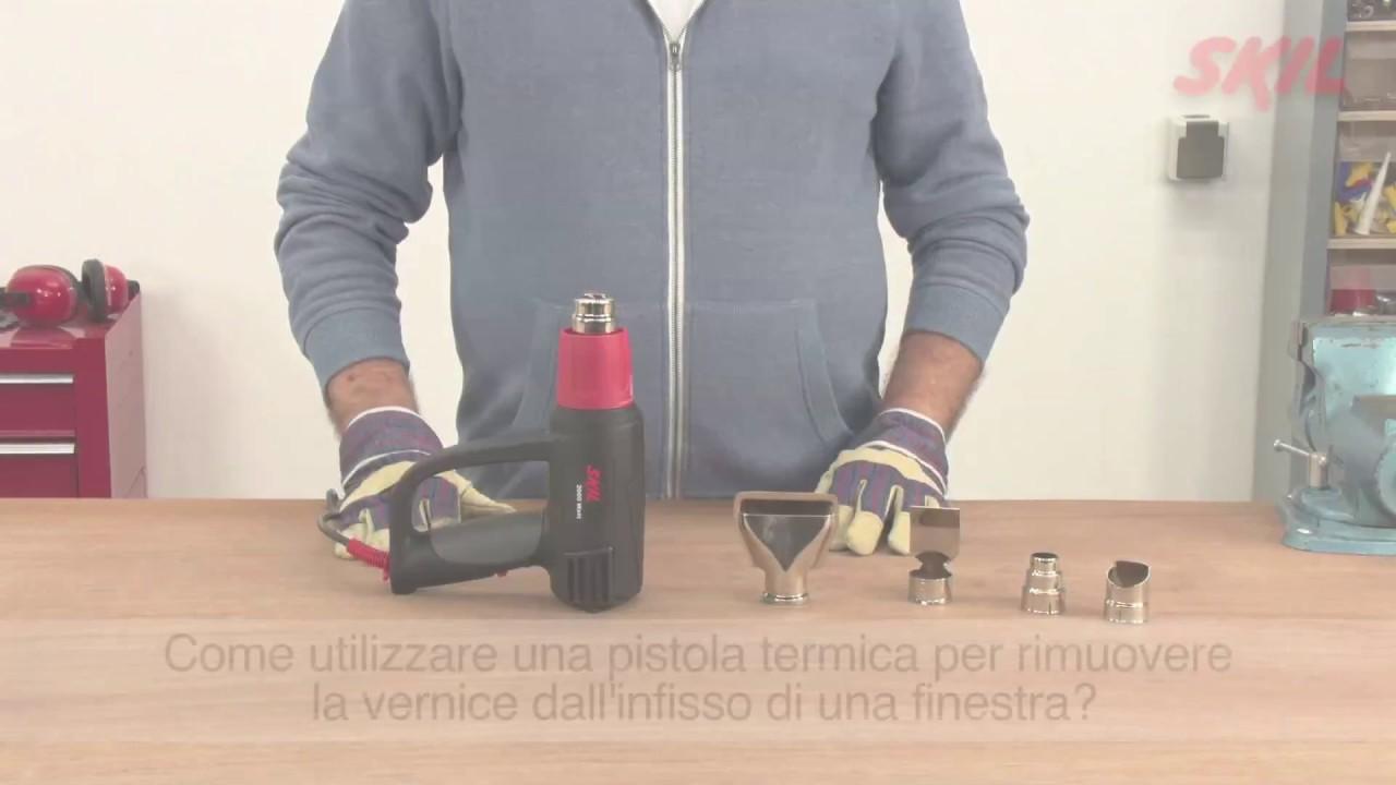 Come Utilizzare Una Pistola Termica Per Rimuovere La Vernice Dallu0027infisso  Di Una Finestra?