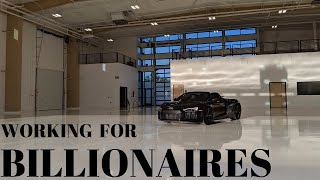 WHAT ITS LIKE TO WORK FOR A BILLIONAIRE/  DAILY VLOG SD009