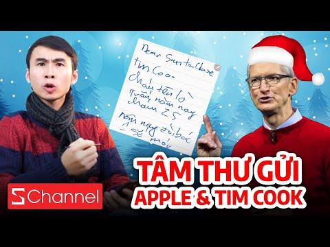 Noel viết TÂM THƯ ĐÒI QUÀ gửi Apple & Tim Cook cực lầy! 🎄