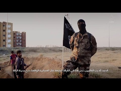 MASKED Man With AMERICAN Accent Appears In Latest CHILLING ISIS Propaganda Film 'Flames of War'!!