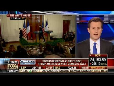 Williams Joins Fox Business' Cavuto to Discuss French President Macron