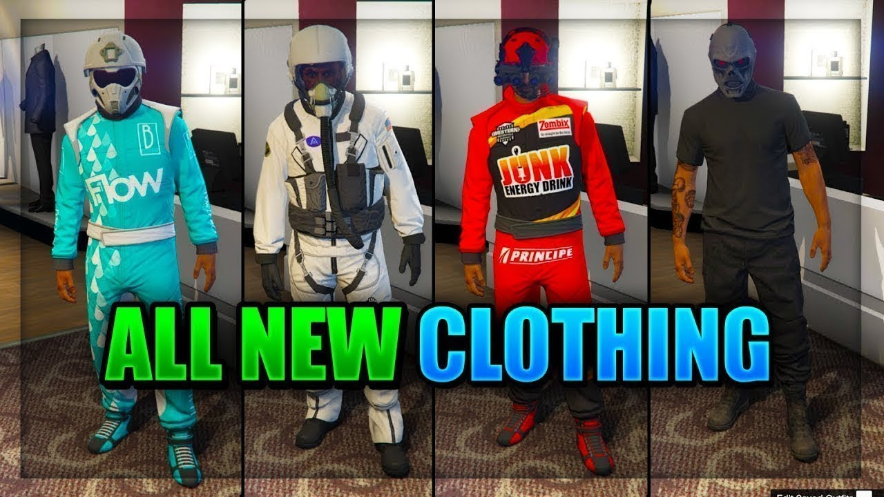 GTA 5 Online 1.41 ALL NEW CLOTHING OUTFITS u0026#39;Smugglers Run DLCu0026#39; Masks Helmets Clothing For ...
