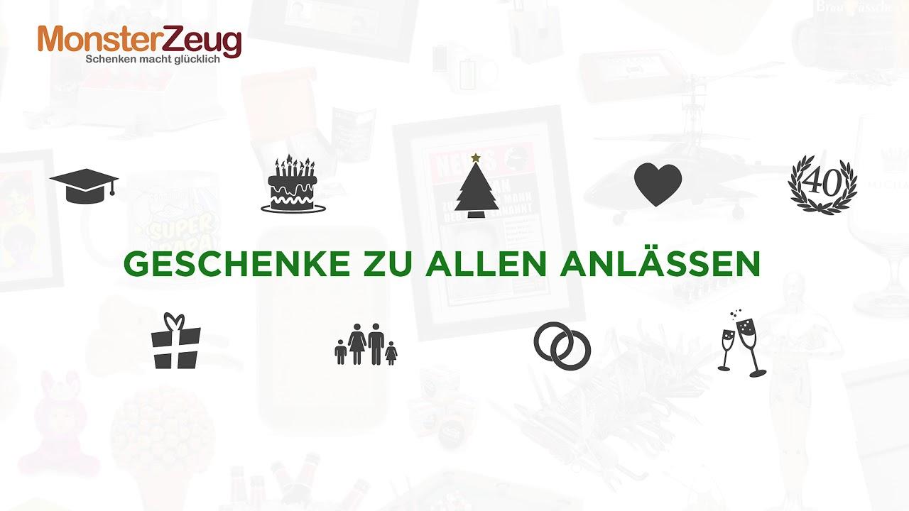 Monsterzeug Werbespot #12 - Weihnachtsgeschenke für Männer, Frauen ...
