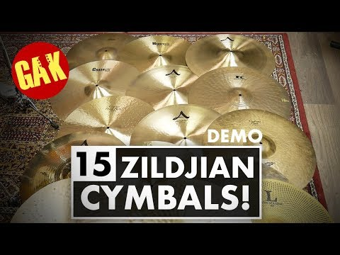 15 Ride Cymbal Comparison! | Zildjian