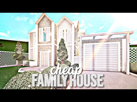 Bloxburg Cheap Family House Or Mansion Ideas In Roblox 2019 - roblox bloxburg speed builds modern 10k