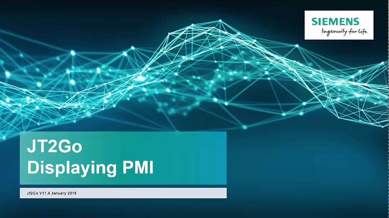 Using PMI with JT2Go
