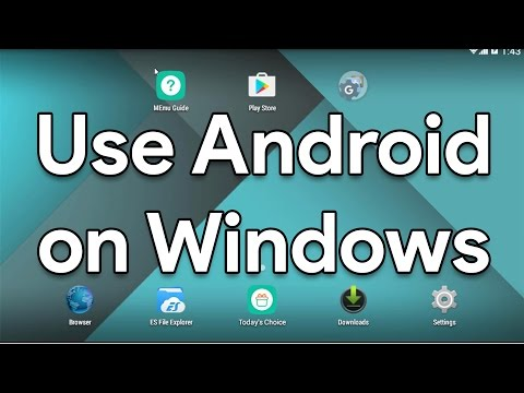 Install and Use Android on Windows