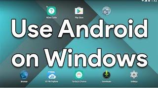 Android on Windows - PUBG - Clash of Clans COC - Mini Militia - PES - Emulator - Bluestacks - MeMu