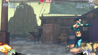Ultra street fighter IV Cammy(IND Ixion) vs T.Hawk(IND Incognitus)