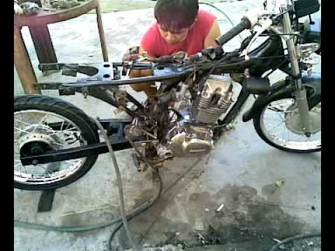 Honda tmx cdi swing arm frm suzuki raider r 150 youtube publicscrutiny Image collections